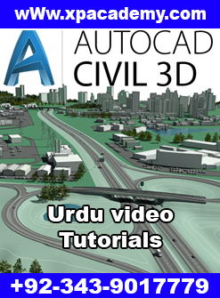 AutoCAD Civil 3D Urdu Tutorials